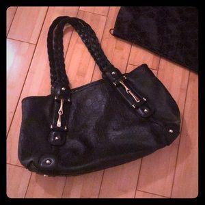 Authentic Gucci Black Pelham Leather Shoulder Bag
